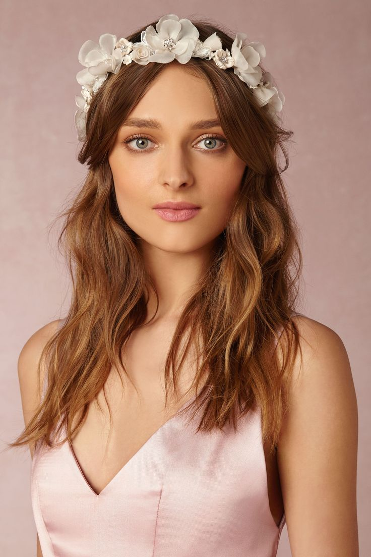 BHLDN_Iceberg Rose Crown