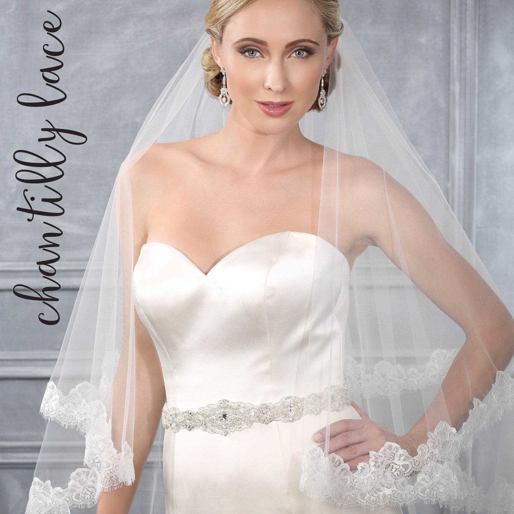 914bb49925aa Chantilly Lace. V7209-BEL-AIRE-BRIDAL